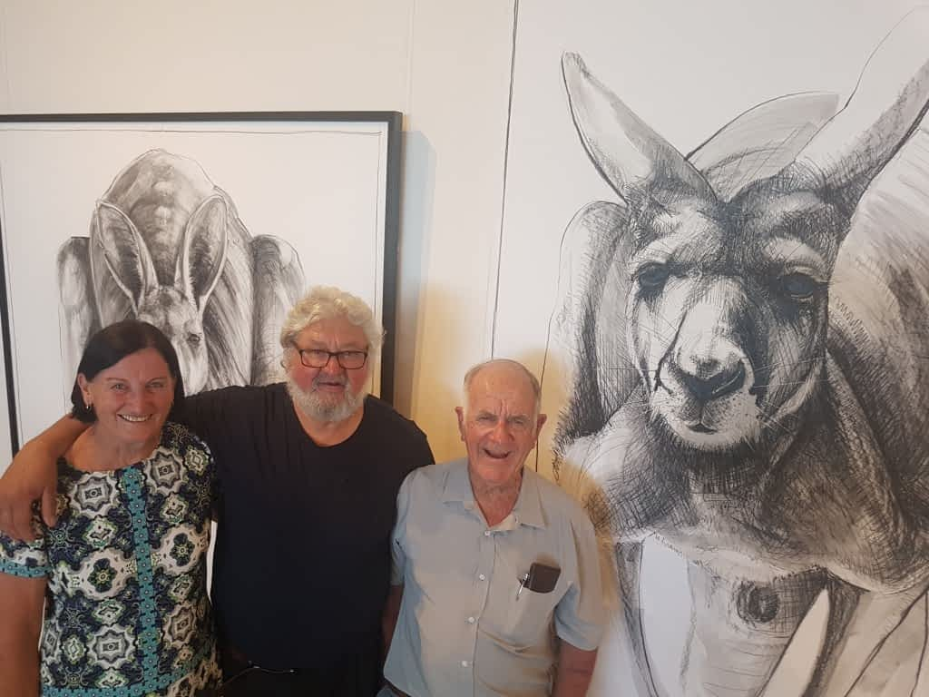 From the opening of Portrait of Kangaroo No. 4+1 photos courtesy of Alexandrina Council 8