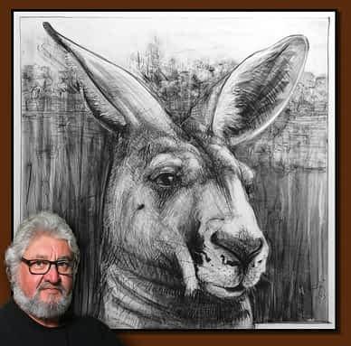 Drawing of Kangaroo No. 51