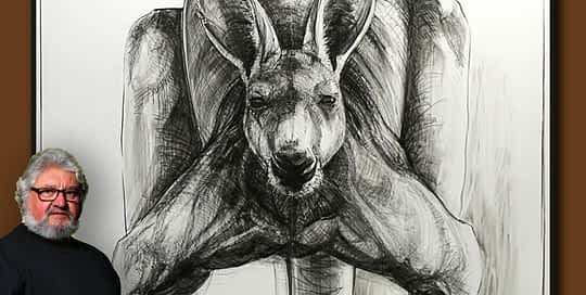 Portrait of Kangaroo 30