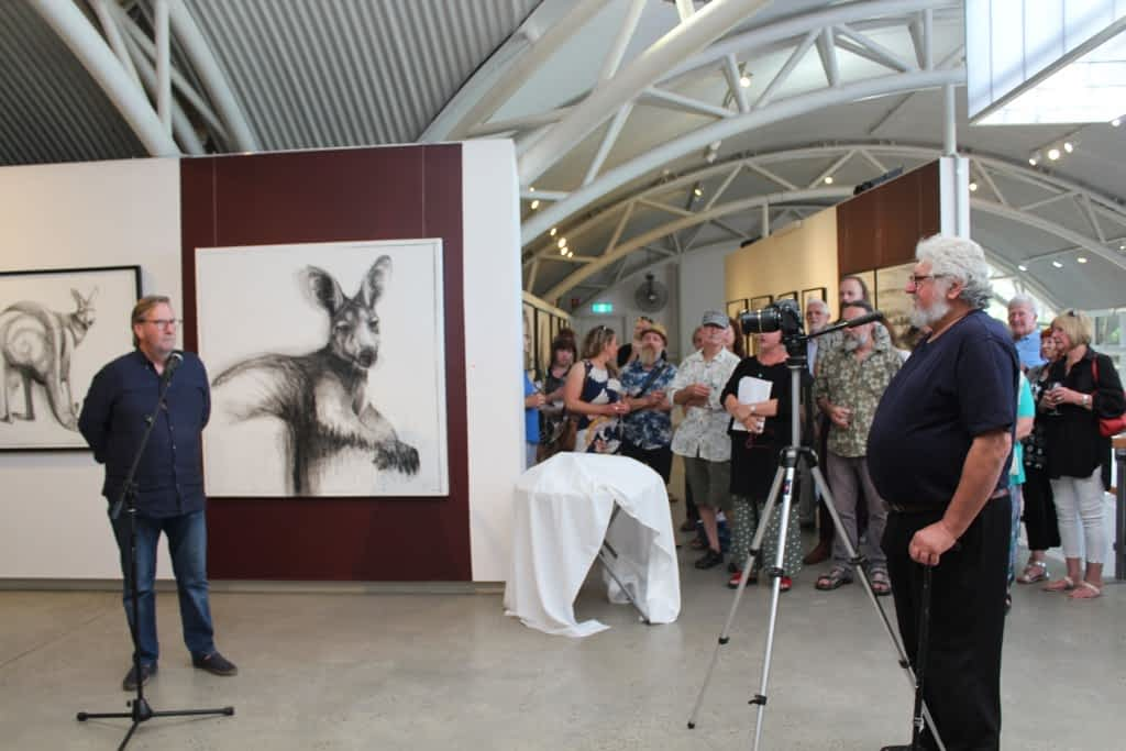 From the opening of Portrait of Kangaroo No. 4+1 photos courtesy of Alexandrina Council 3