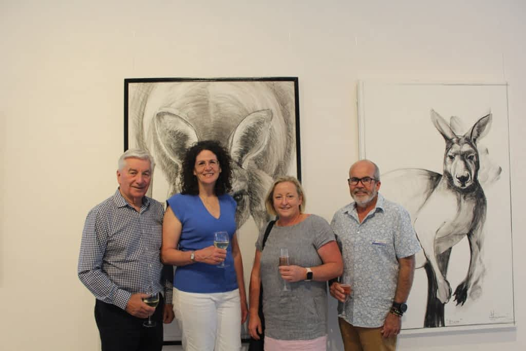 From the opening of Portrait of Kangaroo No. 4+1 photos courtesy of Alexandrina Council 1
