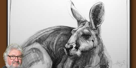 Portrait of Kangaroo 44 by Michael Chorney