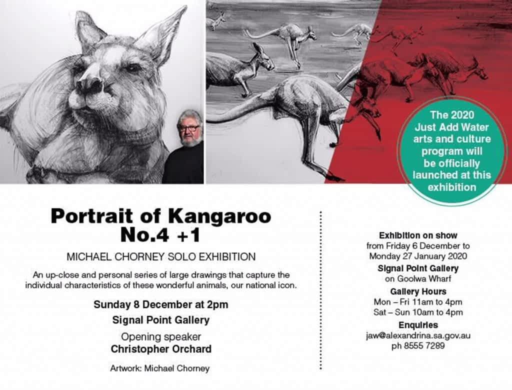 Michael Chorney Portrait of Kangaroo No. 4 +1