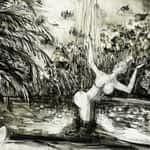 Drawing of Kangaroo 28 c