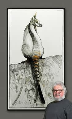Drawing of Kangaroo No. 42